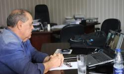 Governador e prefeito discutem medidas para flexibilizar novo decreto e conter Covid-19