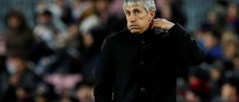 Barcelona demite técnico espanhol Quique Setién