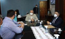Prefeito recebe procurador-chefe para oficialização de usina de oxigênio medicinal em Morrinhos