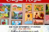 Secretaria de Desenvolvimento Social convida para a Exposição de Pinturas