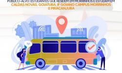 Prefeitura reforça inscrição do Programa Bolsa Transporte Universitário 2021
