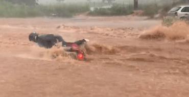 Chuva forte em Goiânia
