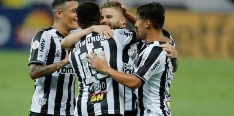 Atlético-MG vence e assume vice-liderança do Brasileiro