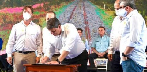 BAMIN investirá R$ 3,3 bilhões na Ferrovia de Integração Oeste-Leste