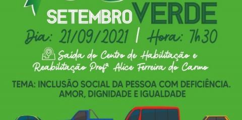 Convite para a Carreata Setembro Verde