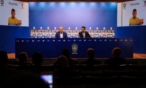 Primeira convocação de Tite na Seleção Brasileira