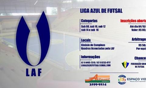 42 Equipes confirmam participação na liga Azul de Futsal