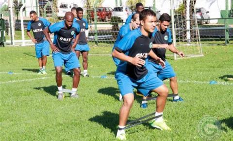 Goiás começa a semana com trabalho físico