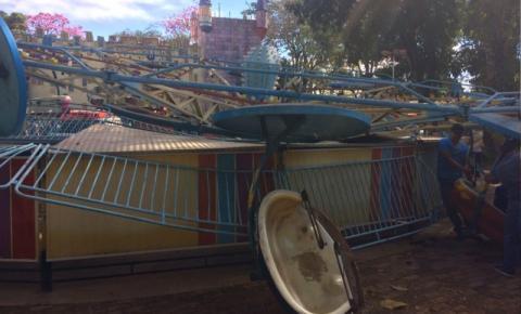 Acidente com brinquedo no Mutirama em Goiânia deixa  12 Feridos.