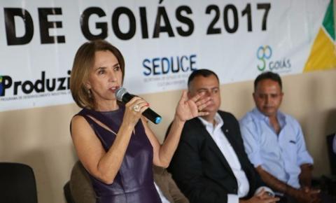 Secretária Raquel Teixeira estará em Morrinhos para discussão de implantação de Centro Cultural
