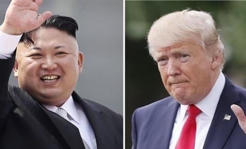 Presidente Americano Trump diz que pode se reunir com Kim Jong-un