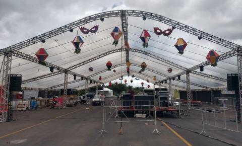 Cidade de Morrinhos pronta para o Carnaval 2019