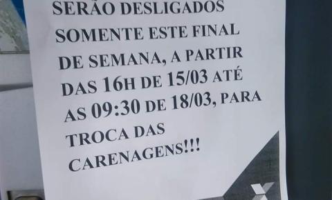 Não estão Funcionando os Terminais de auto atendimento na Caixa Econômica Federal em Morrinhos neste Final de semana