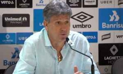 Renato Gaúcho vê parada da Copa América como chance para recuperar Grêmio