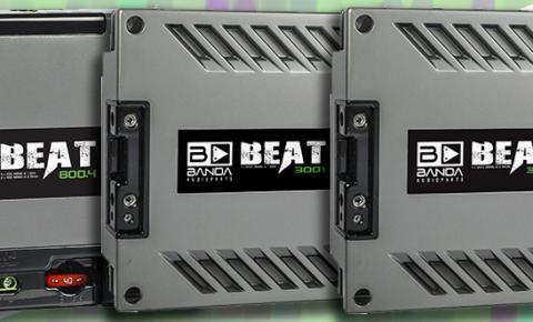 Banda lança a Linha BEAT – a mais nova linha compacta de amplificadores