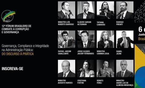 Ministros e juristas debatem medidas de combate à corrupção em Brasília
