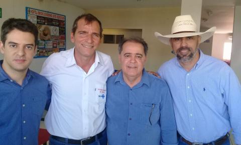 Morrinhos recebe a visita do Secretário Estadual de Saúde é do Deputado Amauri Ribeiro