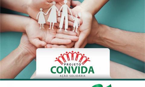 Projeto Convida: Prefeitura de Morrinhos e entidades lançam Ação Solidária