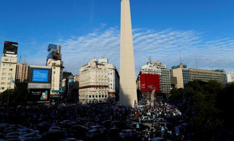 Argentina supera 100 mil casos confirmados da covid-19