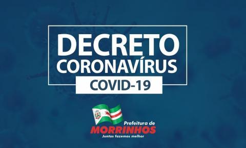 Prefeitura de Morrinhos publica novo Decreto municipal