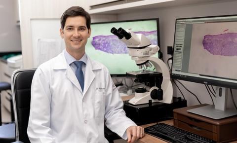 Médico garante a publicação de 14 artigos científicos sobre tratamento de câncer de pele em 2020