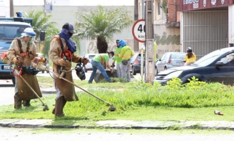 Prefeitura segue com diversas frentes de trabalhos pelos bairros de Morrinhos
