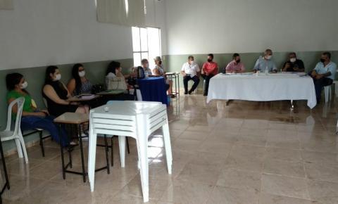 Comitê de enfrentamento se reúne e define normas para retorno das aulas presenciais nas escolas particulares de Morrinhos