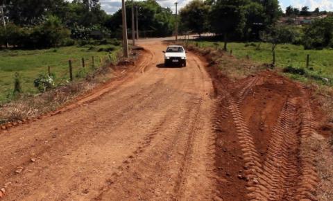Prefeitura realiza recuperação de trecho da Rua 9 do setor Morro da Saudade