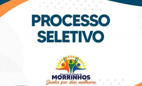 Prefeitura de Morrinhos abre processo seletivo para cargos na área da Educação
