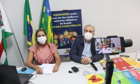 Prefeitura de Morrinhos lança canal de comunicação online para alunos da rede municipal de ensino