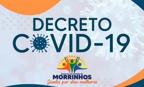 Prefeitura de Morrinhos apresenta novo Decreto Municipal de nº 1.311/2021