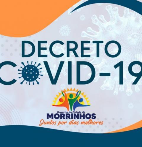 Prefeitura de Morrinhos disponibiliza novo decreto de 1.405/2021